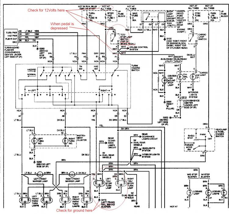 toyota tundra tail light wiring diagram