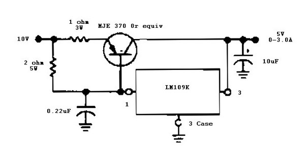 circuit diagram 5v power supply