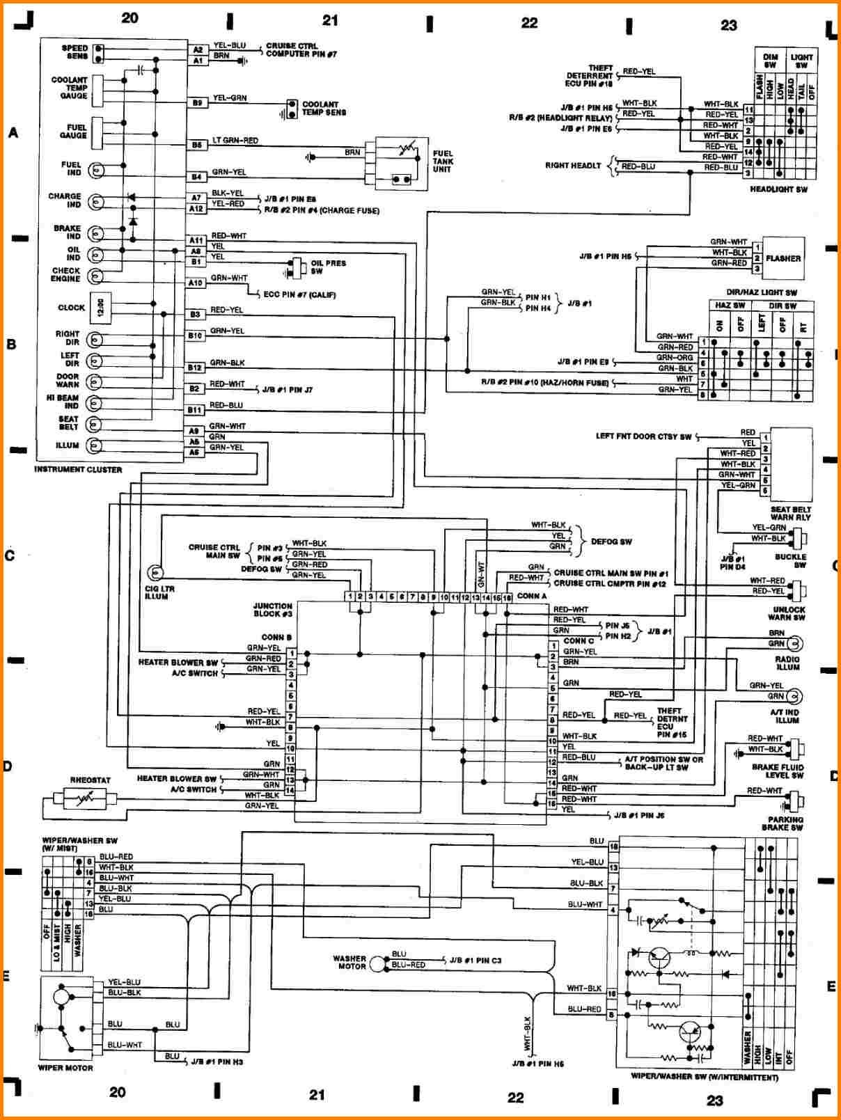 2000 toyota 4runner trailer wiring diagram