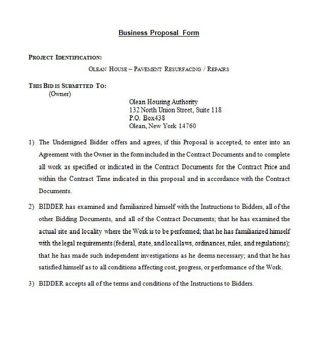 10+ Best Business Proposal Letter - How to Write, Sample, Example - example business letter