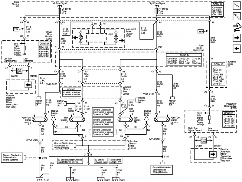2001 chevy 2500 wiring diagram