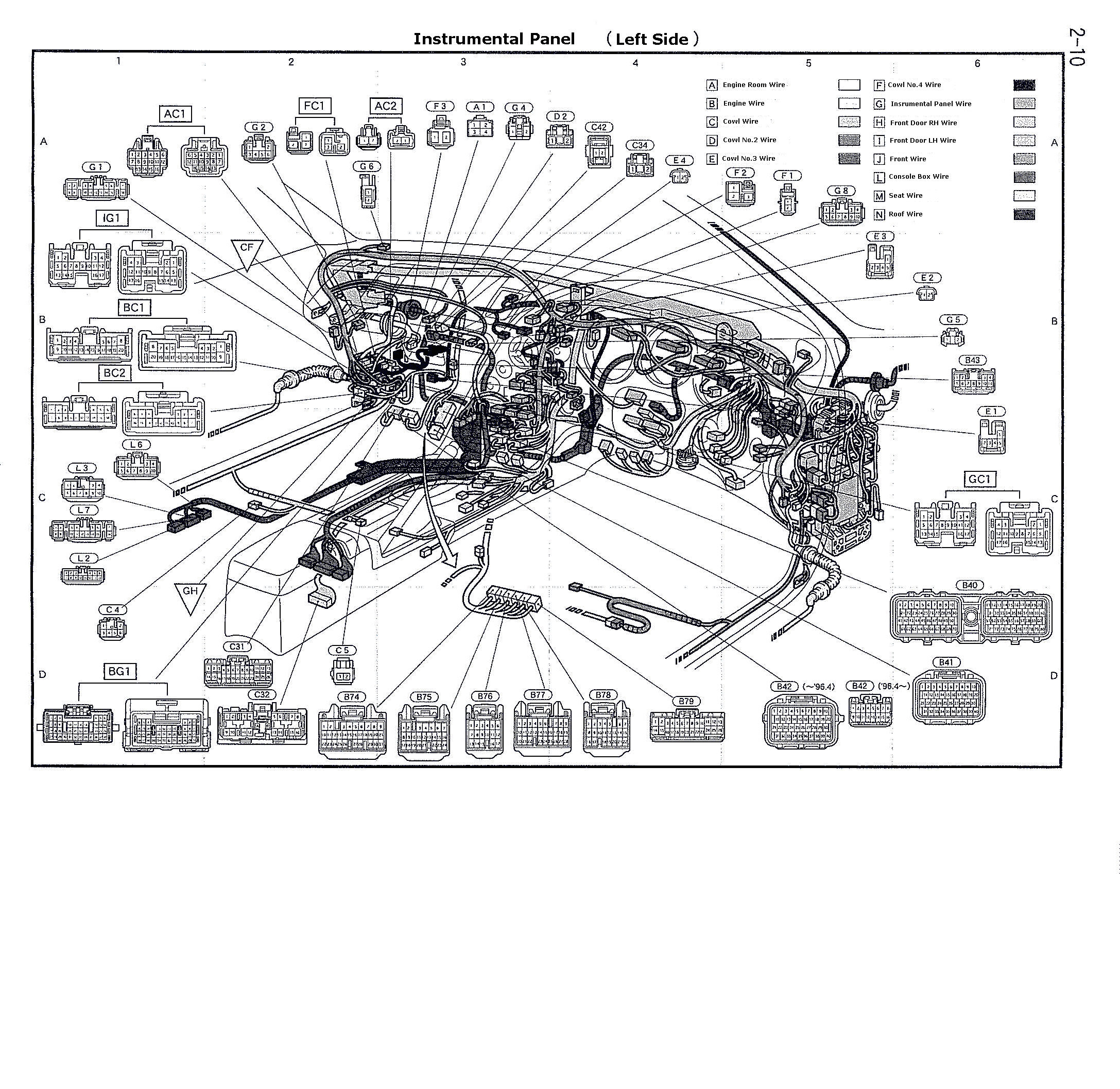 toyota supra engine diagram