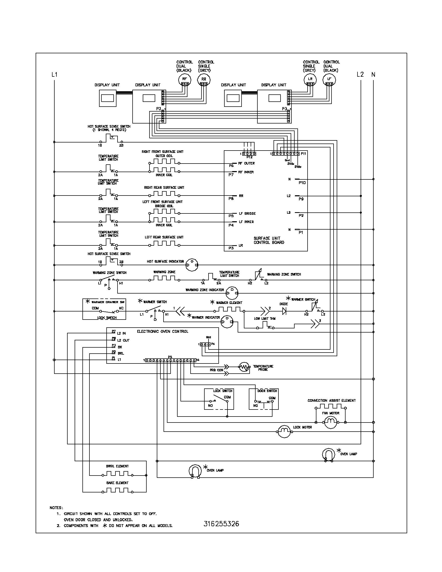 electric range outlet wiring diagram