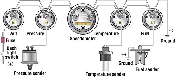tran temp gauge wiring diagram
