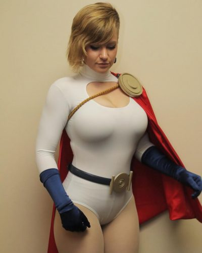 MADISON as Powergirl