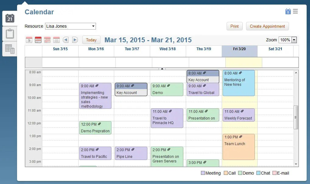 Calendar Appointment Colors - Edward\u0027s Oracle Blog