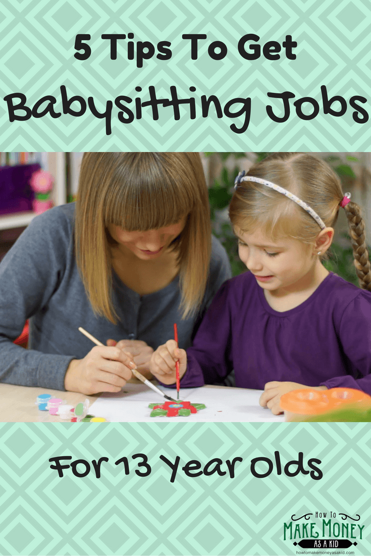 babysitting jobs for 13 year olds available