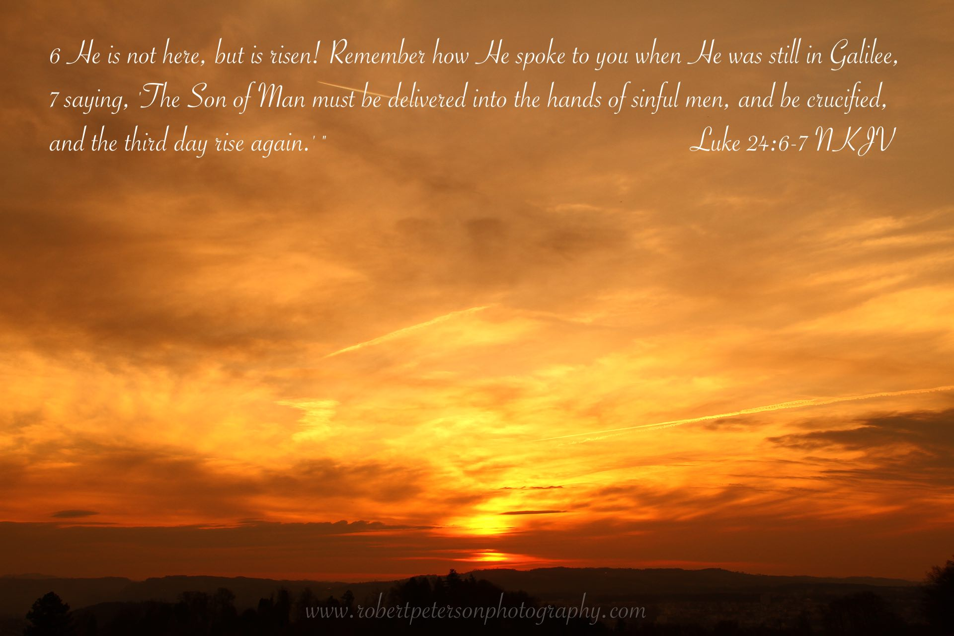 Jesus Christ Wallpapers And Quotes Bible Verse Luke 24 Beautiful Sunset