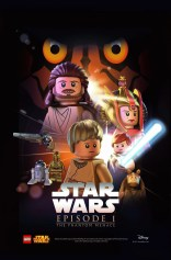 LEGO Star Wars Movie Posters Episode