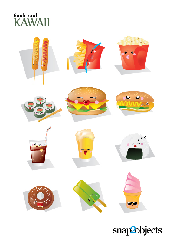 Cute Wallpapers Images For Mobile Free Cute Vector Fast Food