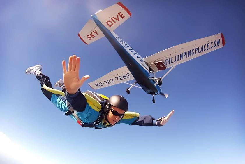 Free Fall Wallpaper Learn To Skydive Uspa A License Course Cost Gold