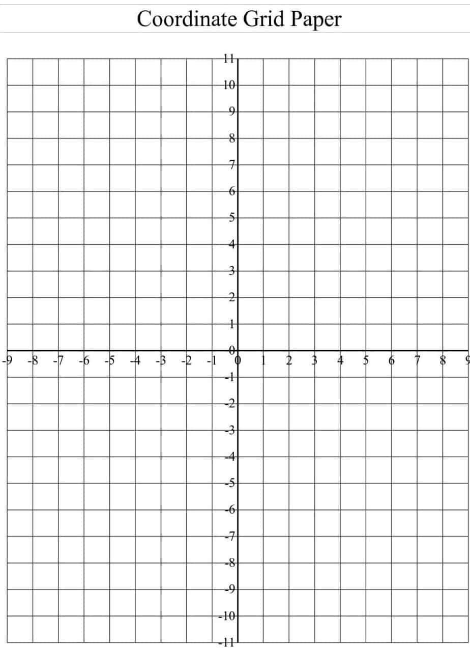 graph paper template excel