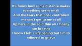 Let it Go - Demi Lovato (Frozen) - lyrics HD - YouTube