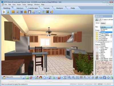 HGTV Home Design Software - Working With The Materials ...