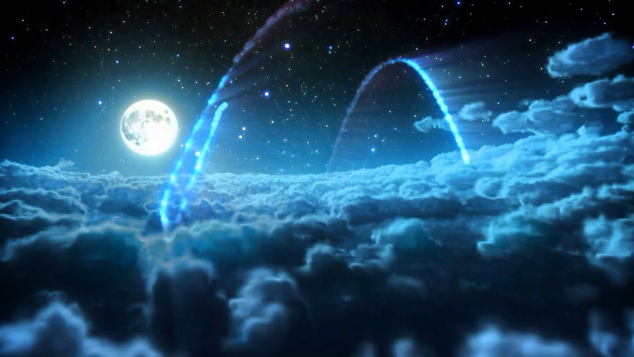 Winter 3d Live Wallpaper Logo Intro 3d High Definition 1080p 720p Night Sky