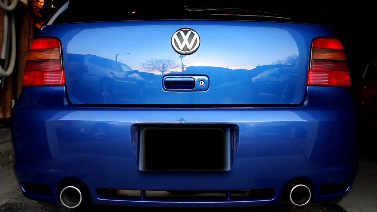 Mighty Car Mods Wallpaper 2004 Vw Golf R32 Flapper Mod Youtube