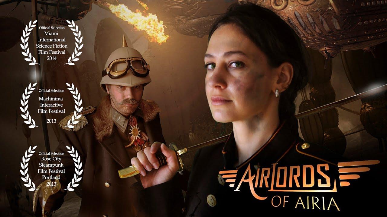 Steampunk Girl Wallpaper Hd Steampunk Sci Fi Short Film Hd Airlords Of Airia Youtube