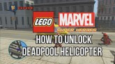 How to Unlock Deadpool's Helicopter - LEGO Marvel Super Heroes
