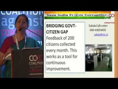 Dr Shalini Rajneesh | Coalition against corruption