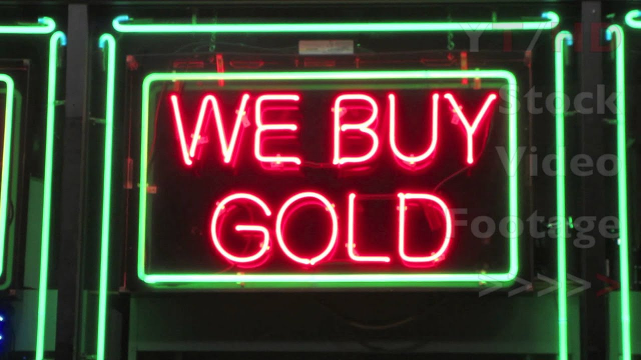 Cash Wallpaper Hd Bright Pawn Shop Amp We Buy Gold Neon Sign At Night At Local