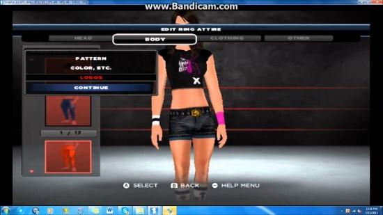 WWE '13 AJ Lee caw Fomula - YouTube