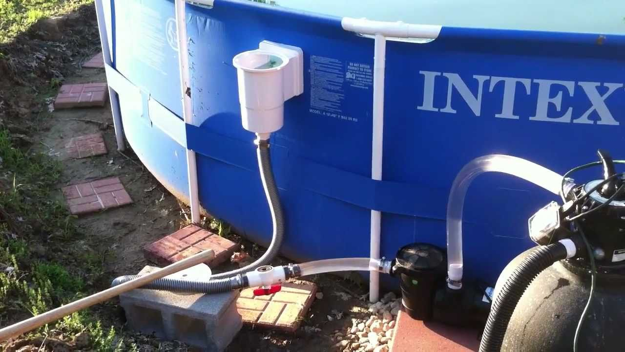 Intex Pool Pump Youtube Sand Filter Intex Sand Filter Youtube