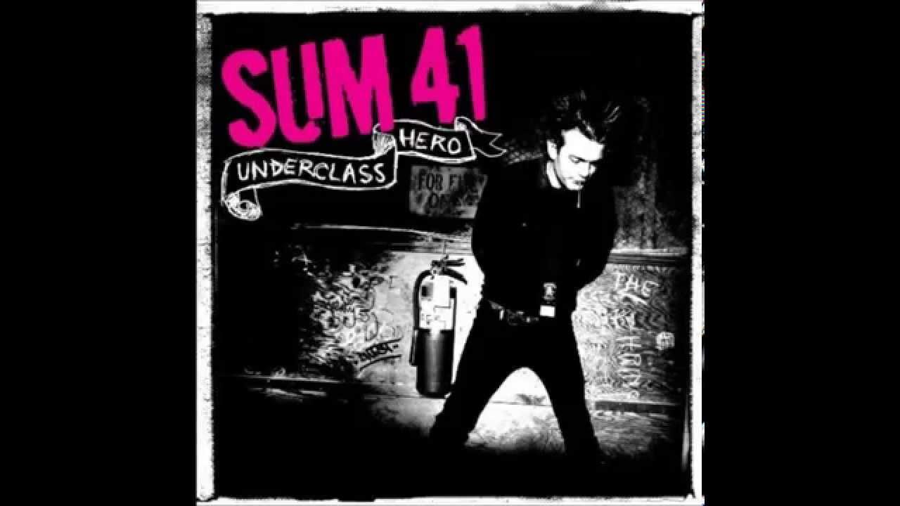 Sum 41 Wallpaper Hd Sum 41 Underclass Hero Full Album Hd Youtube