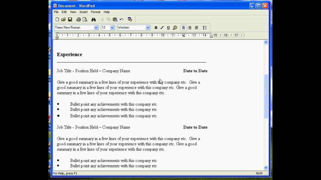 create resume in word format   quick calendar templatecreate resume in word format how to create a resume in microsoft word with  sample