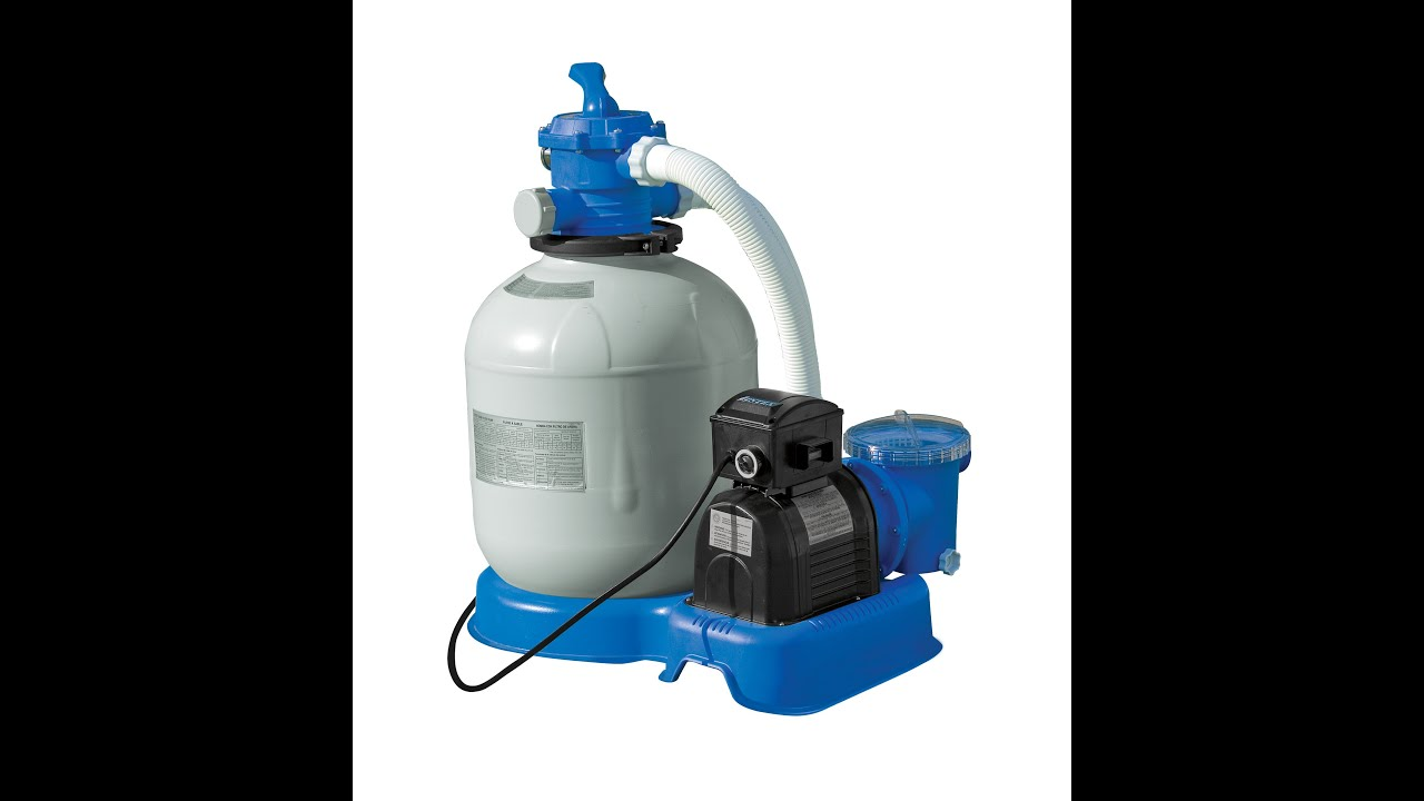 Filtro Piscina Bestway Intex 1200, 1600 And 2650 Sand Filter Pump Setup
