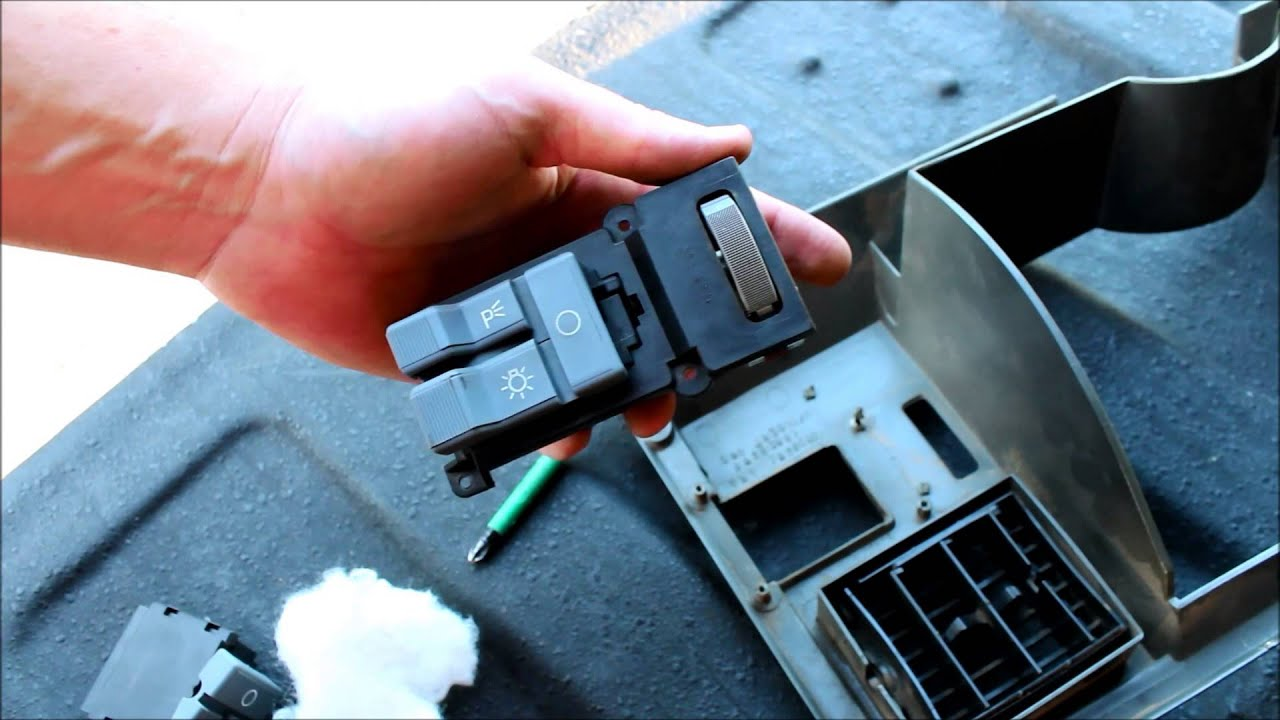 11 Chevy Silverado Fuse Box Diagram How To Replace A Headlight Switch Chevy And Gmc Youtube