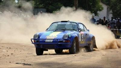 Tuthill Porsche Safari Rally Trailer - YouTube