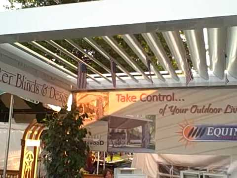 Equinox Louvered Roof Patio Cover/better Blinds And Design Equinox Louvered Roof Patio Cover/Better Blinds and Design - YouTube