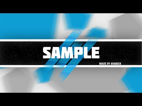 Free Abstract Youtube Banner Template PSD VideoMoviles - youtube banner template photoshop