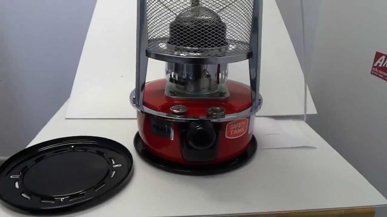 Paseco Wkh 2310 Kerosene Camping Heater Youtube