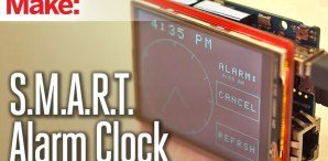 Never Forget to Set an Alarm. Because This Alarm Clock Sets Itself!