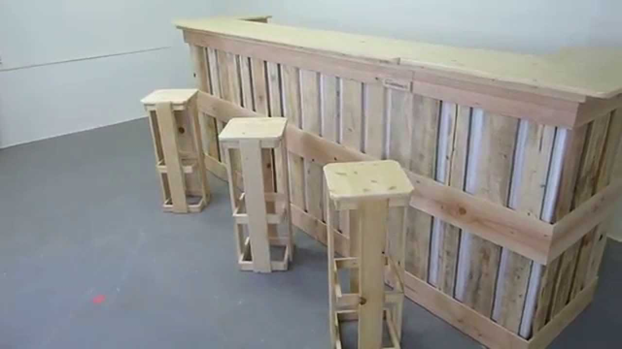 Terrasse Bois Kit Comptoir Made By Lesateliers.lu .mov - Youtube