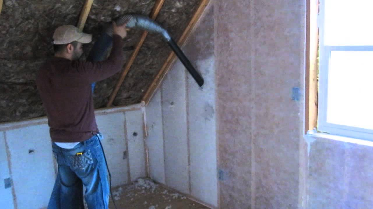 R38 Insulation Blow In Blanket Insulation - Youtube