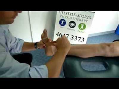 Narellan Physio - Foot Taping - Low Dye Taping - Lifestyle ...