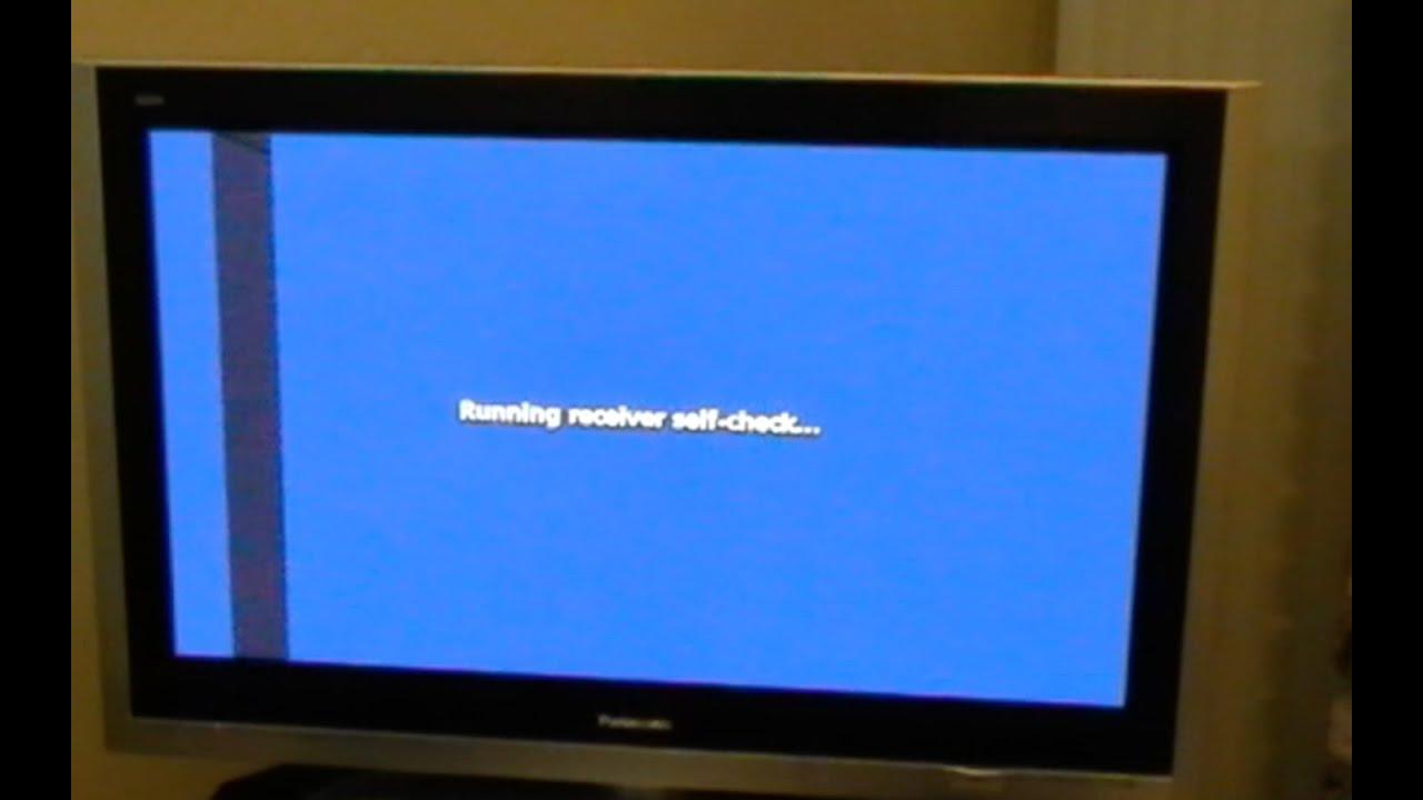 Black And White Dot Wallpaper Fix Panasonic Plasma Tv Vertical Or Horizontal Bars Youtube