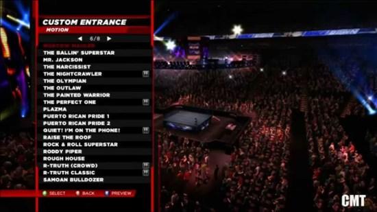 WWE 2k14 Official Entrance List - YouTube