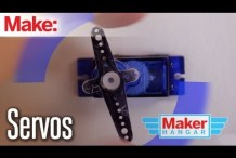 Maker Hangar Episode 5: Servos