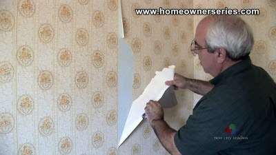 How to Fix Drywall - Removing Wall Paper - Drywall Repair ...