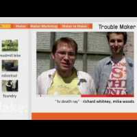 Maker Channel 105 &#8211; Treadmill Bike, Robostool, Foundry, Death&nbsp;Ray