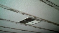 Manufactured Home Ceiling Panels. Ceiling Fix YouTube ...