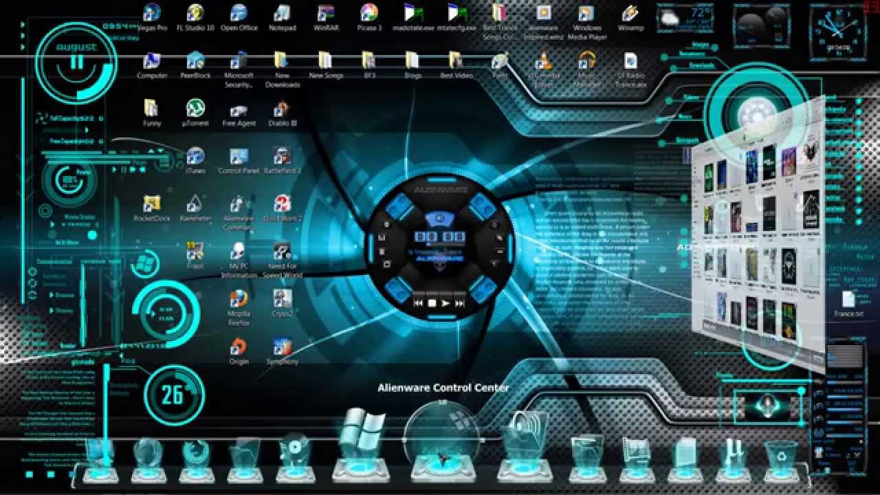 Android 3d Live Wallpaper Tutorial Futuristic 3d Hologram Windows Theme Skin Read