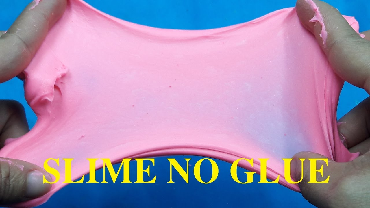 Diy Slime Without Glue No Glue No Borax How To Make Slime Without
