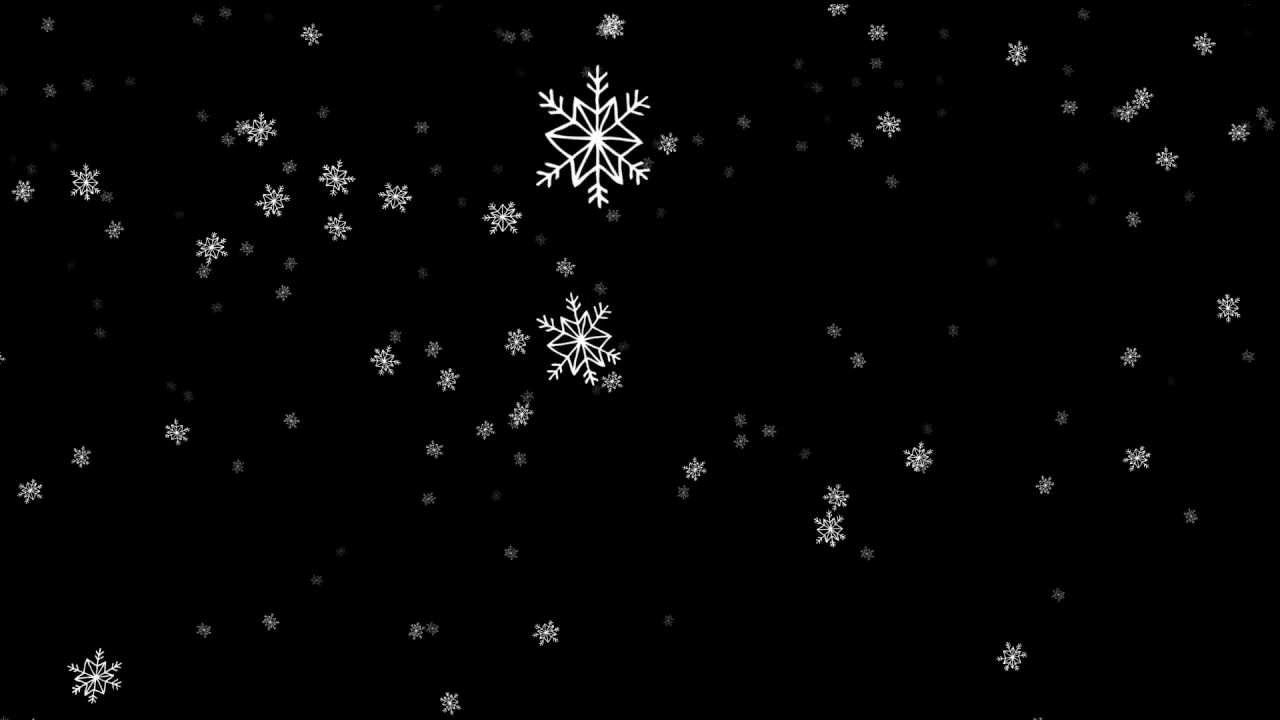 Pink Feathers Falling Wallpaper Cartoon Snowflakes Falling Big Free Hd Overlay Footage