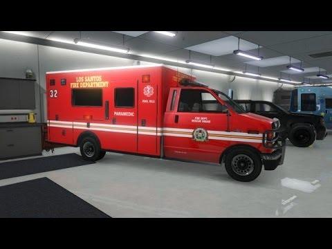 GTA 5 : Comment sauvegarder une ambulance dans son garage? Glitch