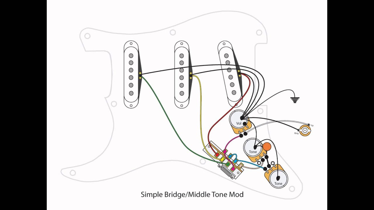 strat bridge tone control wiring diagram