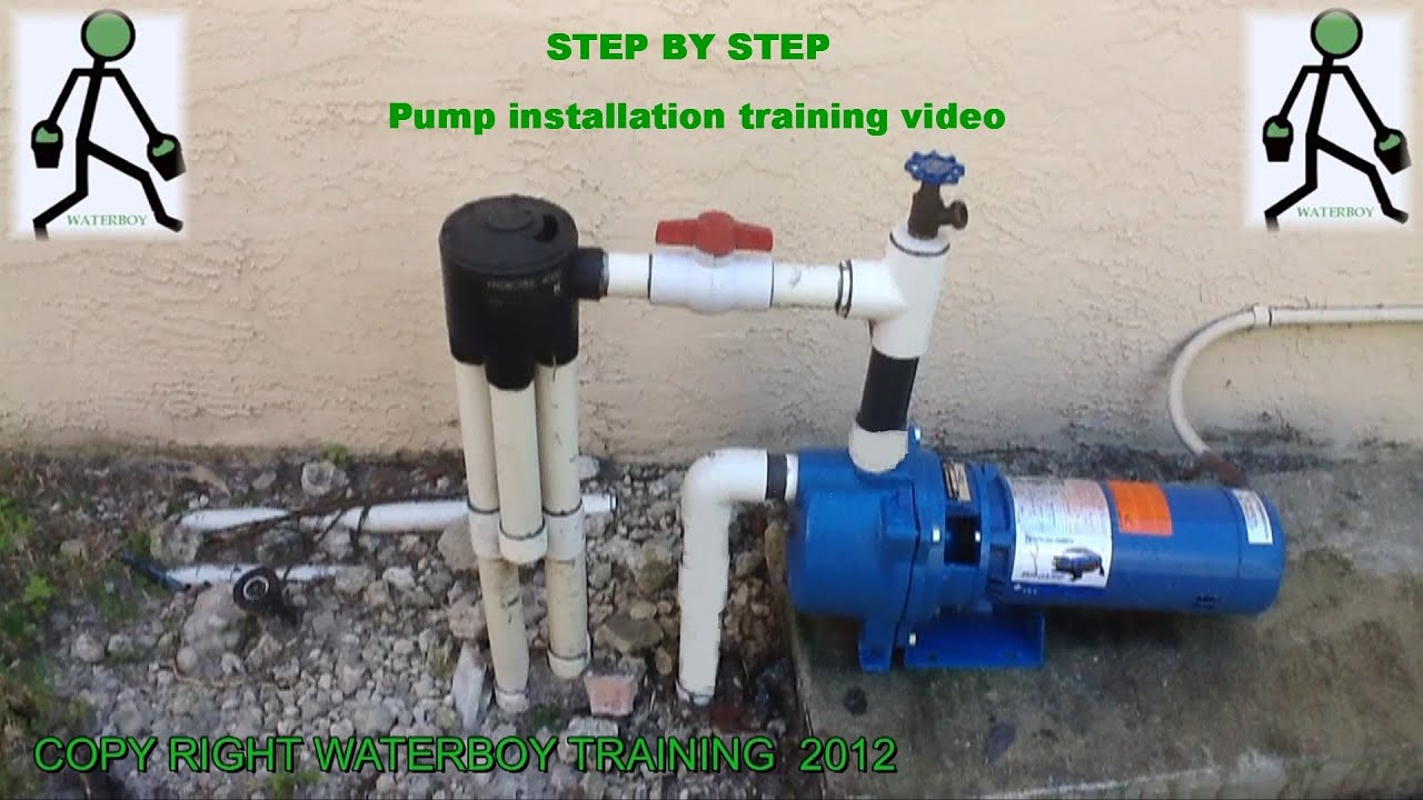 110 Switch Wiring Diagrams How To Install A Lawn Sprinkler Pump Youtube